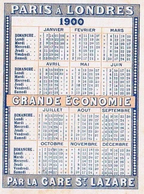 Calendario 1900.El Dia Que Salvo Al Mundo Del Aburrimiento El Baul De Blauab